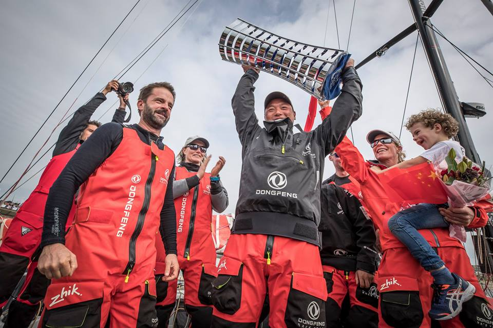 Dongfeng Race Team стала победителем парусной регатыVolvo Ocean Race 2017-2018