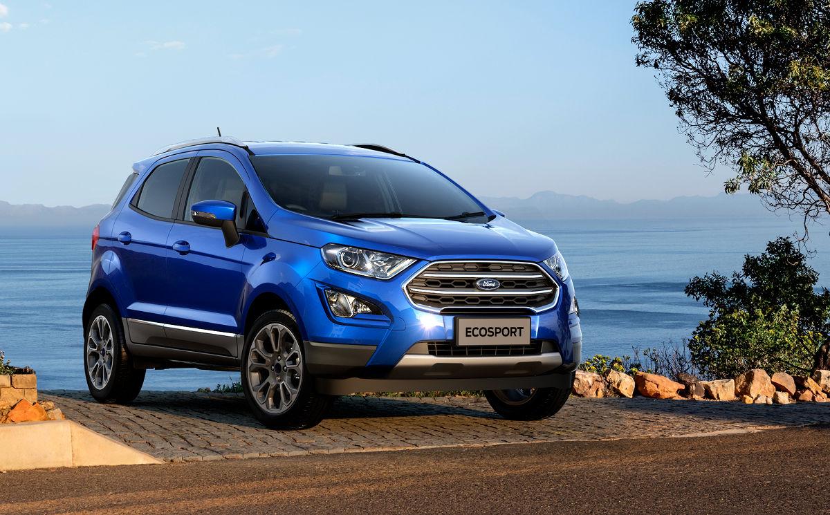Новый Ford EcoSport доставлен ко всем российским дилерам