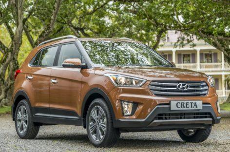 Кроссовер Hyundai Creta стал лидером рынка SUV в городах-миллионниках