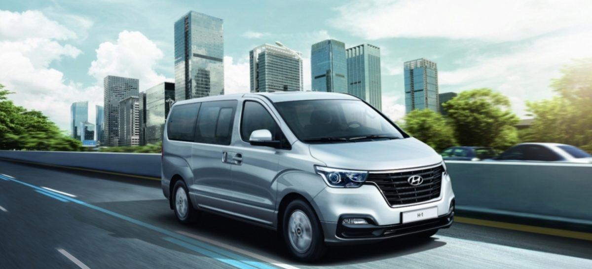Начались продажи обновлённого Hyundai H-1