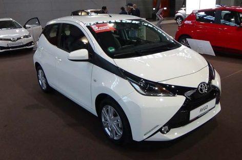 В Европу едет бюджетный хэтчбек Toyota Aygo с ценником от $13 000