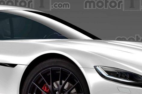 Опубликован рендер на новую Mazda RX-9
