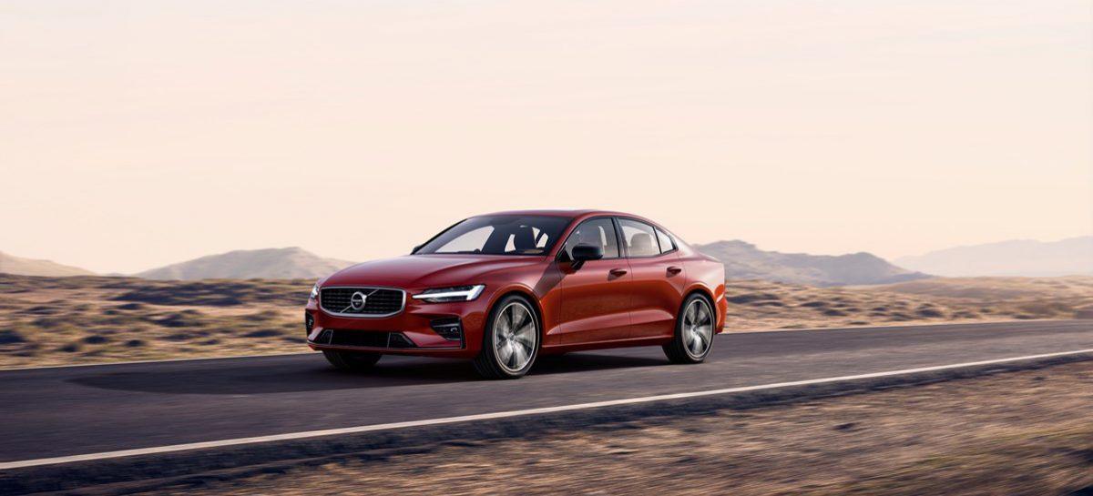 Новый спортивный седан Volvo S60