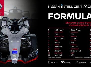 Nissan в пятом сезоне Формулы Е