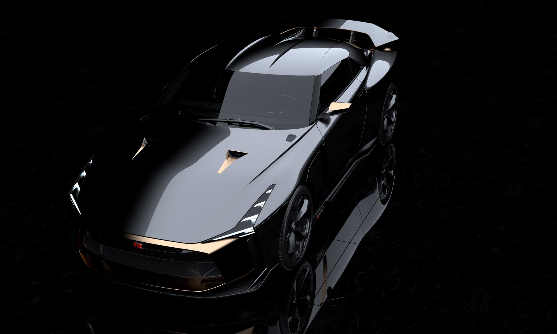 Nissan и Italdesign представляют уникальный прототип GT-R по случаю 50-летия модели