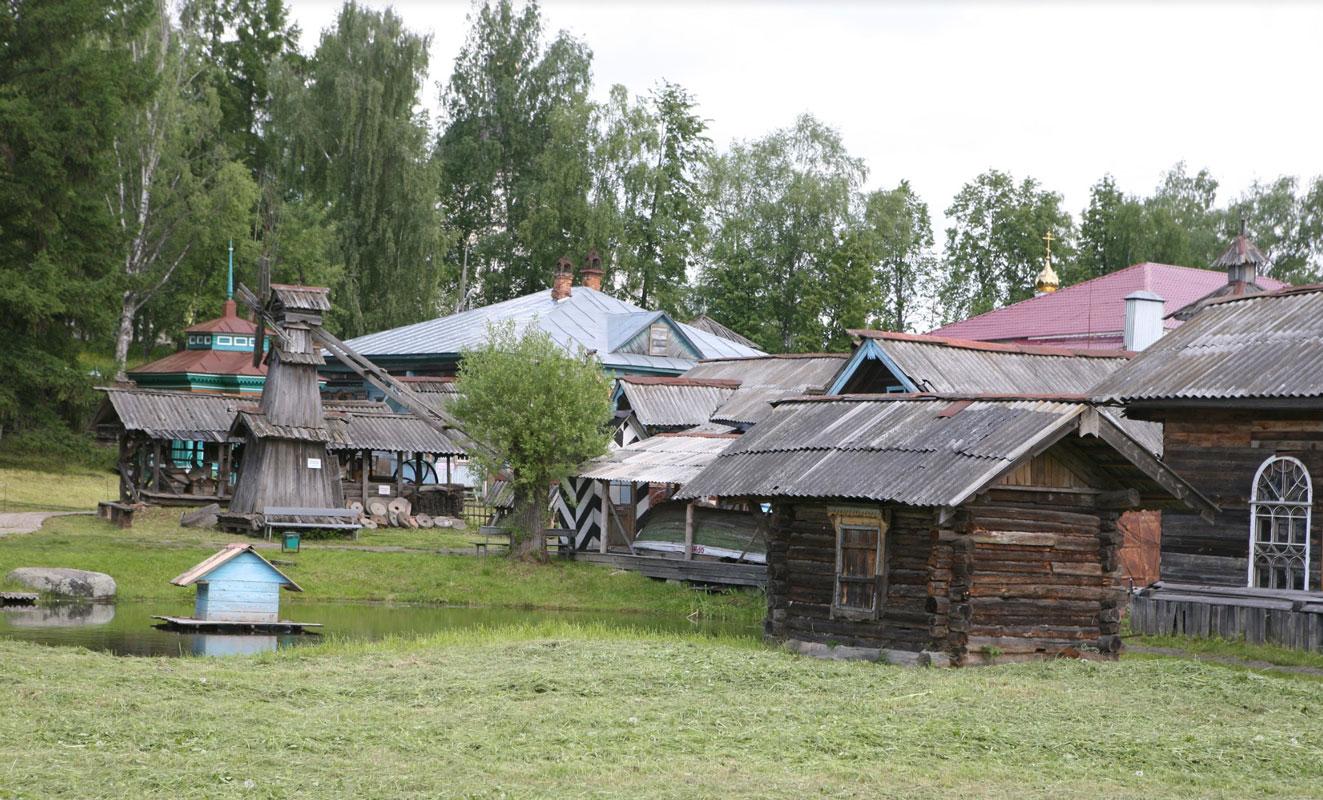 Прекрасные виды по дороге к Новгороду