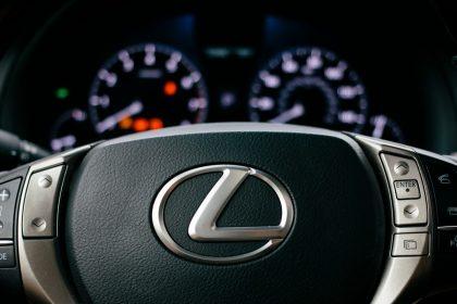 Lexus RX расплавился