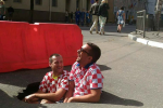 Развеселившую фанатов из Хорватии дорожную яму заасфальтировали