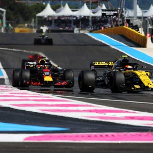 Renault Sport F1 Team на Гран-при Франции