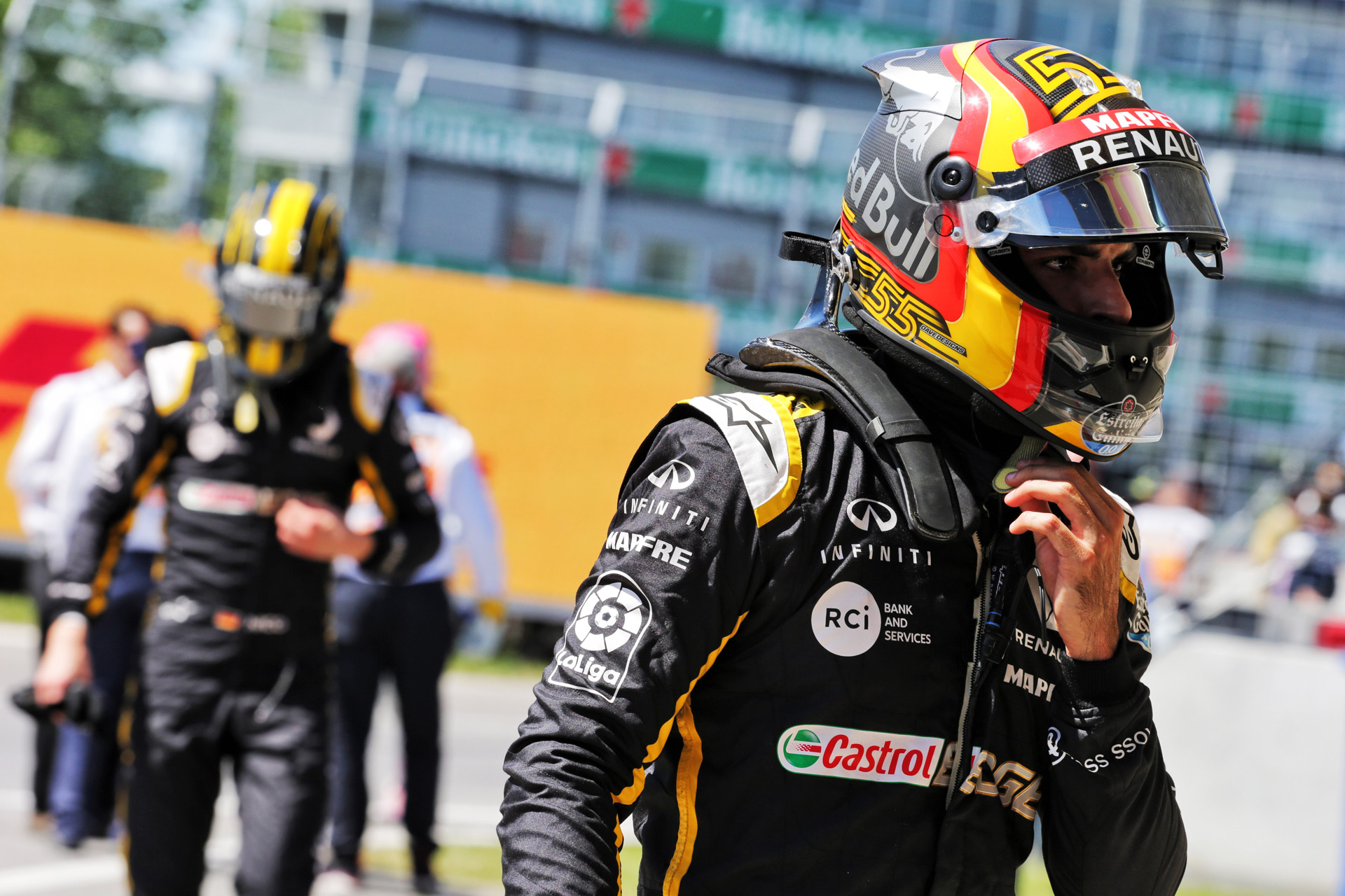 Renault Sport Formula One Team на Гран-при Франции