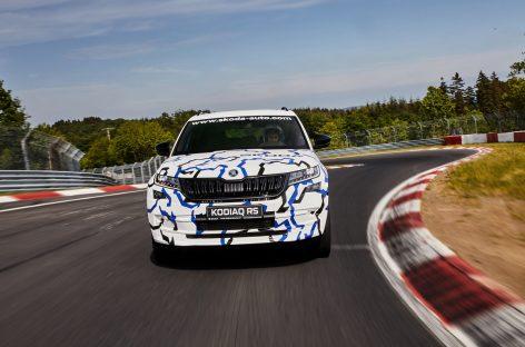Новый рекорд круга Нюрбургринг от Škoda Kodiaq RS