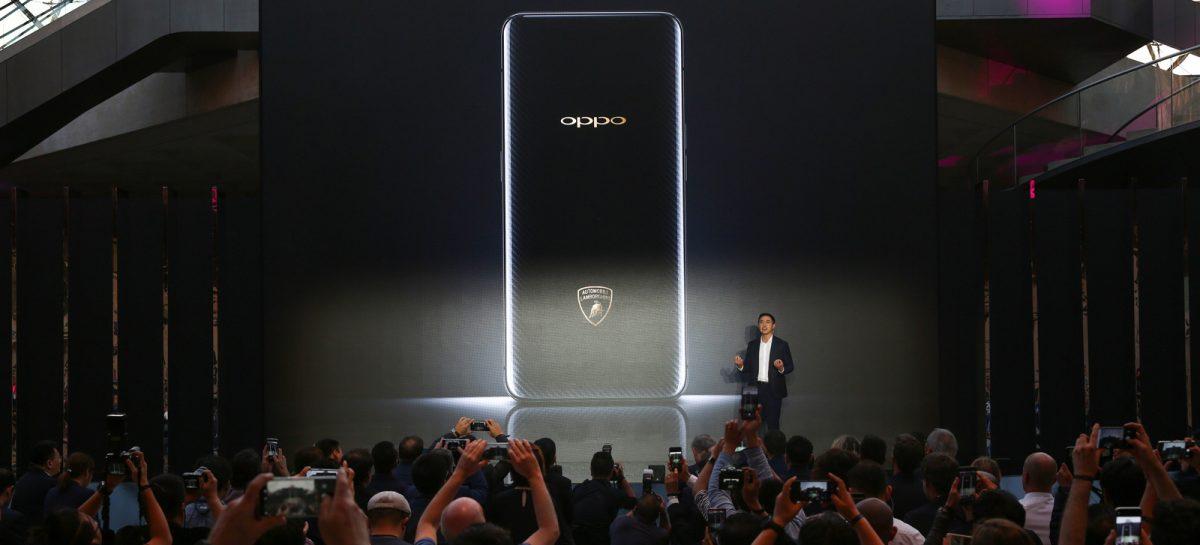 Компания OPPO была выбрана в качестве партнера Lamborghini