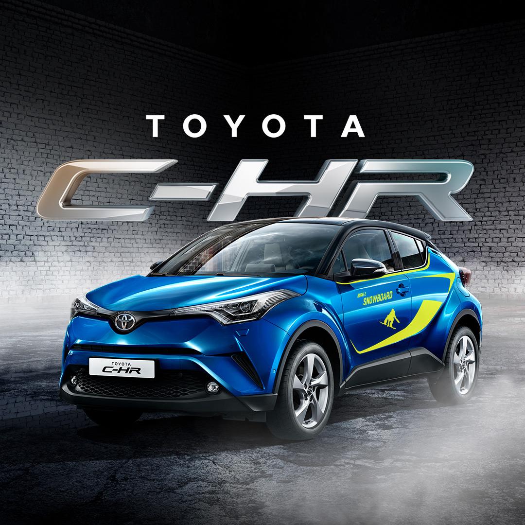 Быстрее, проще, выгоднее: продажи Toyota C-HR стартуют с выгодными условиями по кредиту и КАСКО