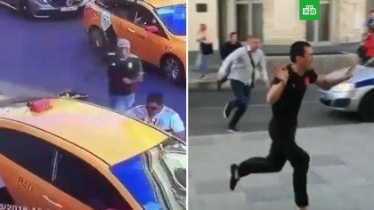 Такист испугался того что совершил