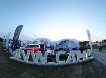 Коммерческие автомобили Volkswagen на фестивале «Дикая мята»