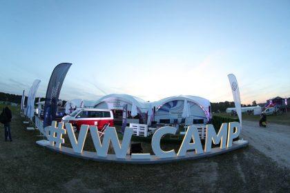Volkswagen на фестивале «Дикая мята»