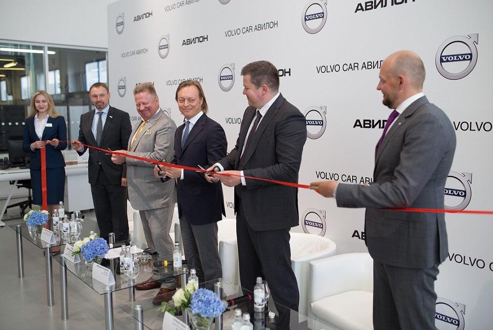 Volvo Car Авилон пополнил список дилерских центров шведского автопроизводителя в Москве