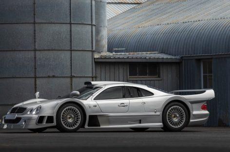 Дорожный спортпрототип Mercedes-Benz AMG CLK GTR выставят на торги