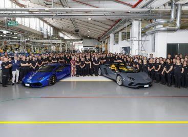 Automobili Lamborghini отмечает новые производственные рекорды