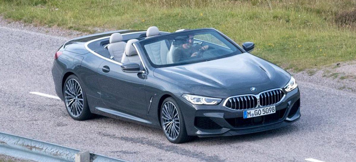 Появились фотографии новой «восьмерки» BMW без крыши