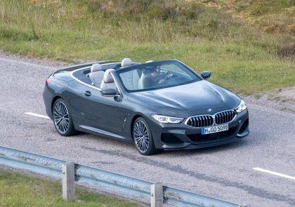 BMW 8 серия - новые фото из Шотландии