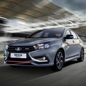 Автоваз подал заявку на регистрацию товарного знака Lada Sport Line