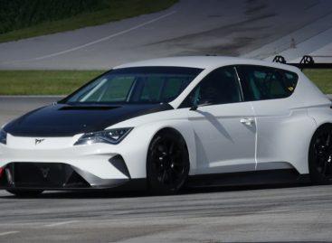 Прототип Cupra e-Racer прошёл первые испытания на треке