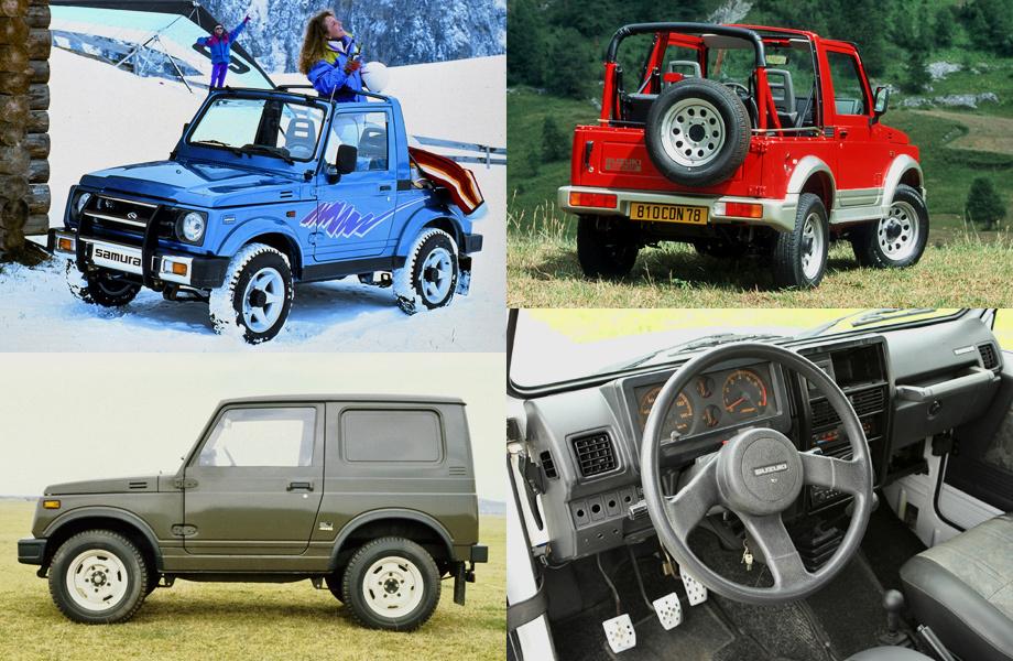 Второе поколение Jimny выпускалось целых 17 лет