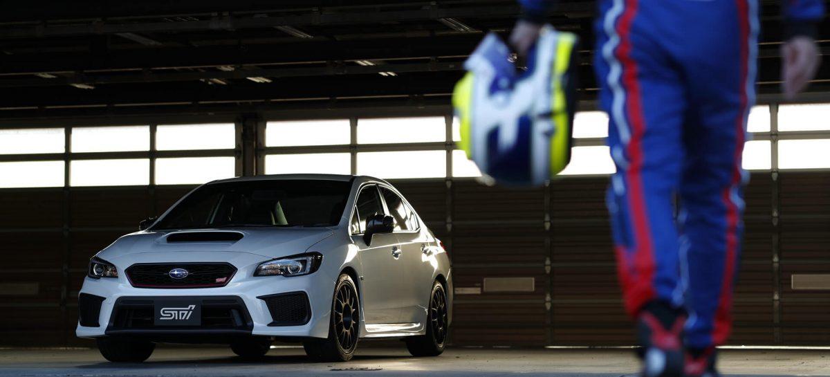 Для Японии создан юбилейный седан Subaru WRX STI Type RA-R