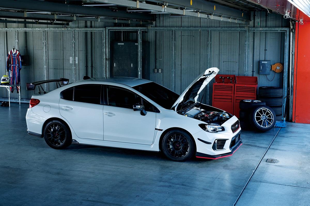 Subaru WRX STI с мотором 2.5