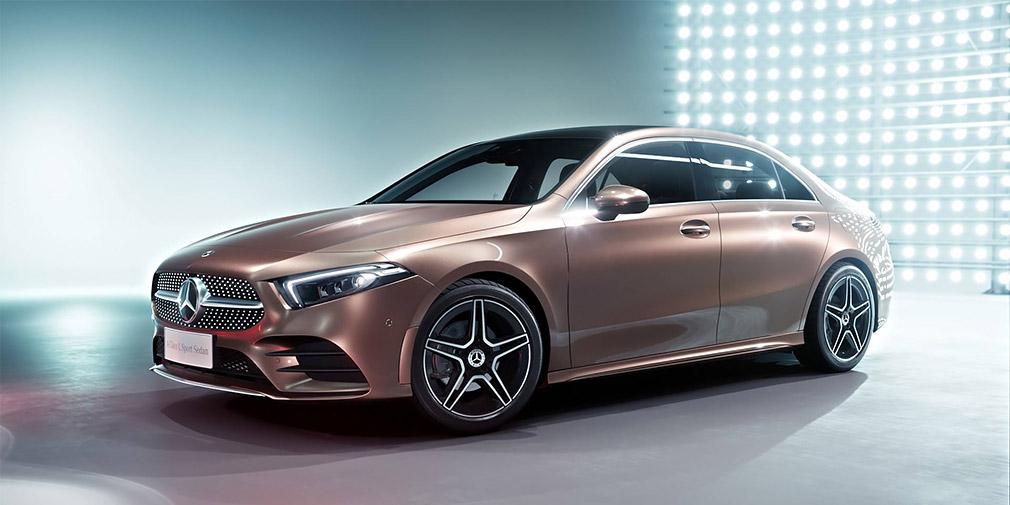 Mercedes-Benz A-class 2018 цена еще неизвестна