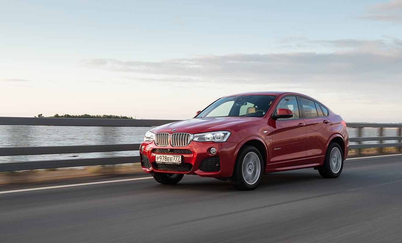 BMW X4 обогнал собрата