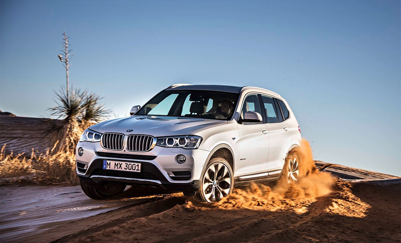BMW X3 оказался на восьмом месте, подешевев на 35%