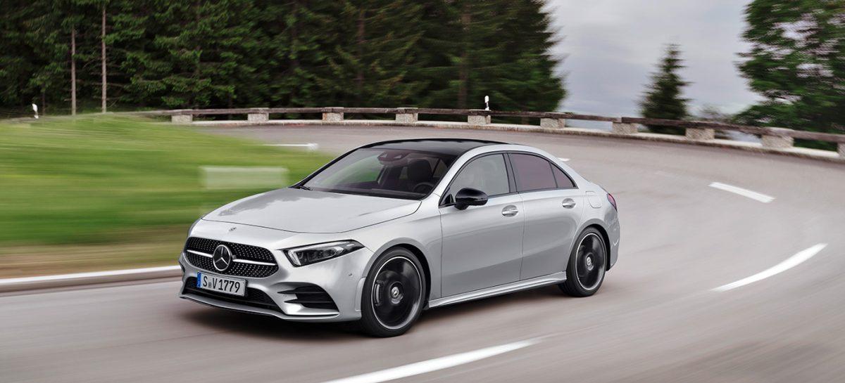 В России открыт предзаказ на новый компактный седан Mercedes-Benz А-Класса