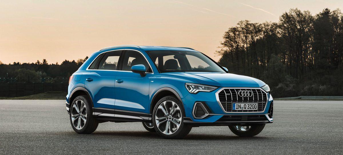 Новое поколение безупречного кроссовера Audi Q3
