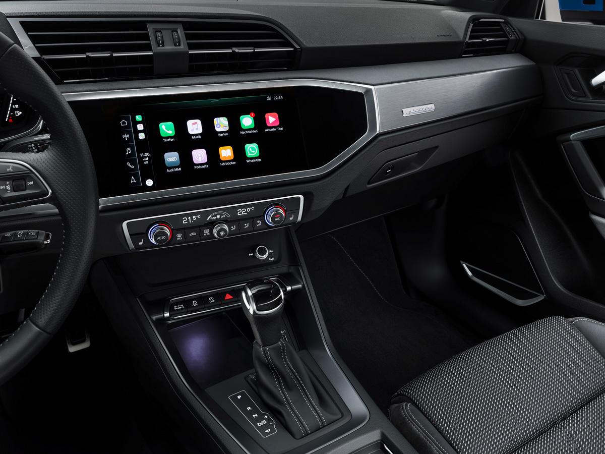 Audi Q3 2018 дисплей