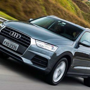 Новый кроссовер Audi Q3 показали на официальном видео