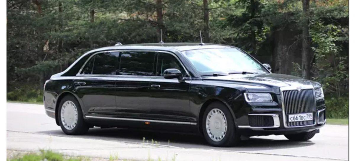 Путин щегольнет автомобилями Aurus перед Трампом