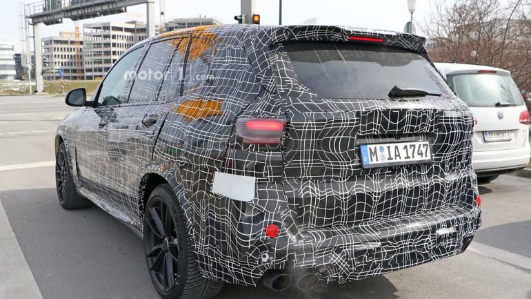 BMW X5 M новые фото