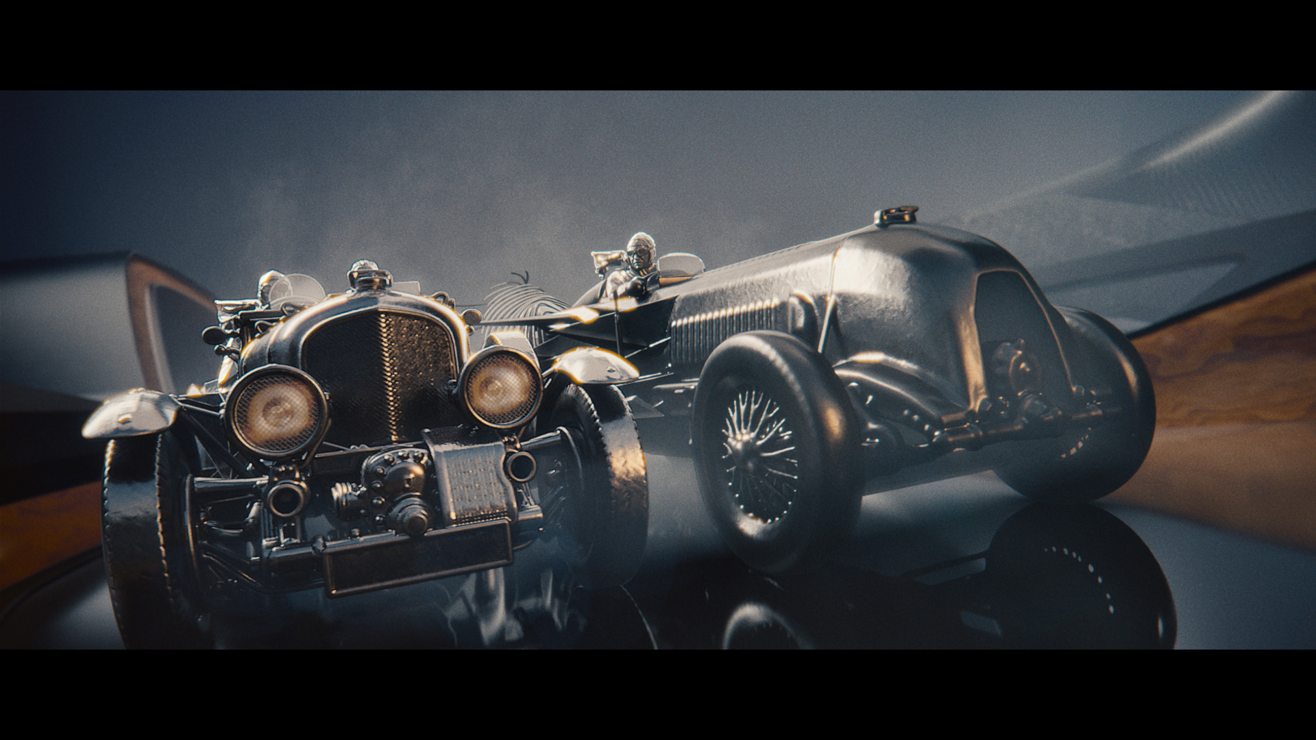 Премьера нового видео от Bentley: история исключительности