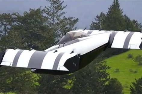 В США представили новый летающий автомобиль BlackFly