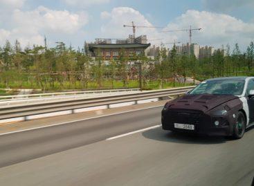 Hyundai вывела на тесты восьмое поколение седана Sonata