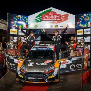 Алексей Лукьянюк и Алексей Арнаутов – победители пятого этапа ERC!