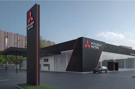 Mitsubishi Motors представляет новый глобальный дизайн дилерской сети