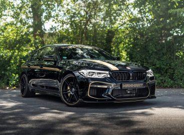 Ателье Manhart представило 723-сильный BMW M5