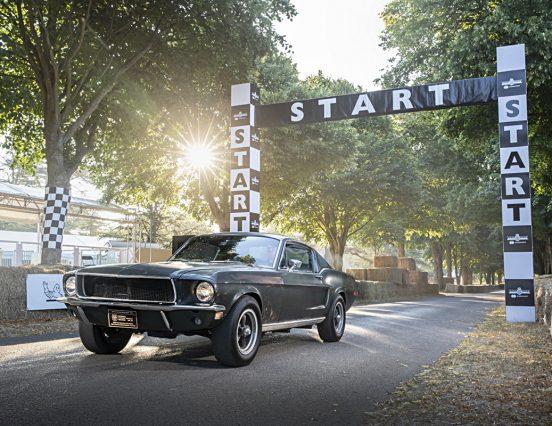 Ford впервые представит оригинальный Mustang Bullitt за пределами США на Фестивале скорости в Гудвуде