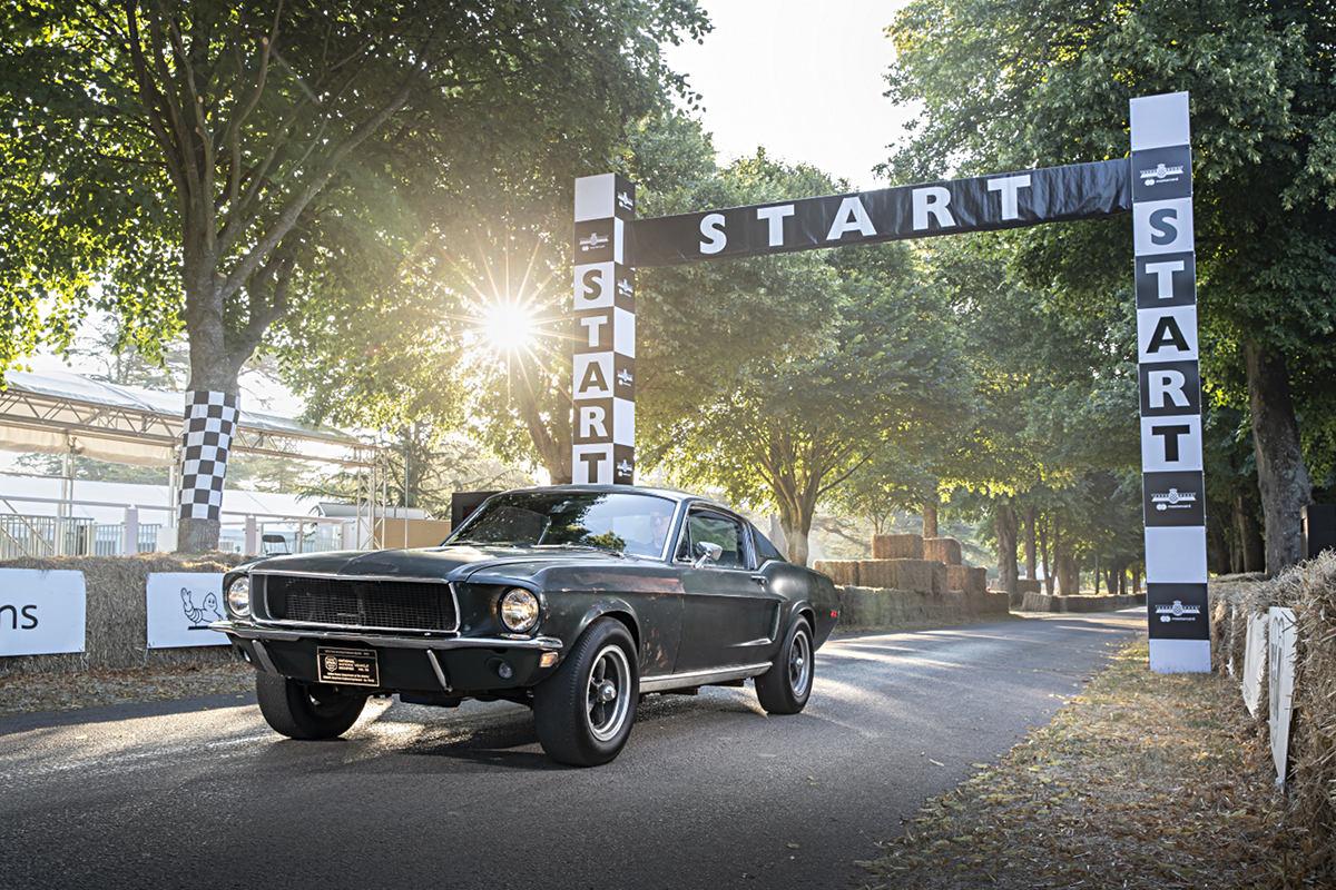 Mustang Bullitt 1968 года