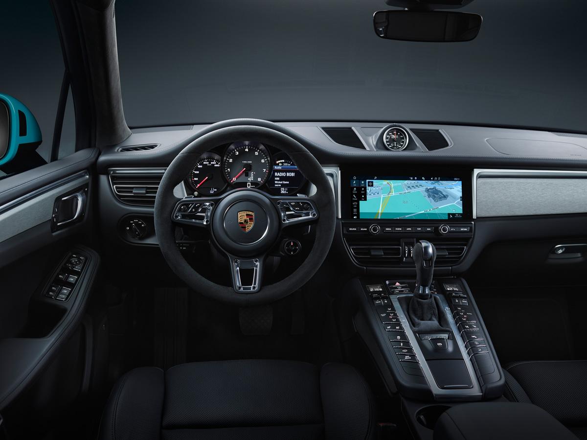 Porsche Macan 2018. Рулевое колесо