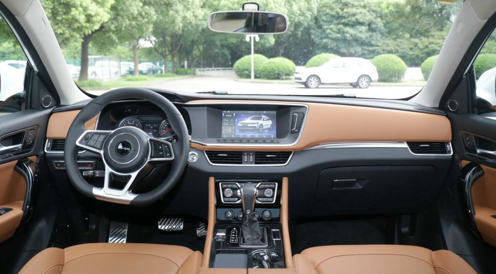 Zotye Coupa interior