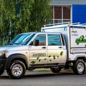 УАЗ показал гибридный грузовик